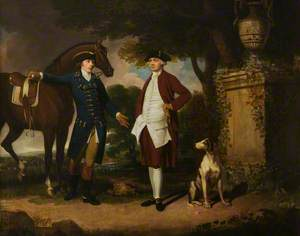 John Frederick Sackville (1745–1799), 3rd Duke of Dorset, and Mr Ralph Petley of Riverhead