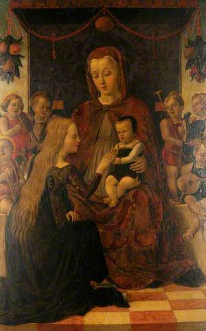 The Mystical Marriage of Saint Catherine of Alexandria