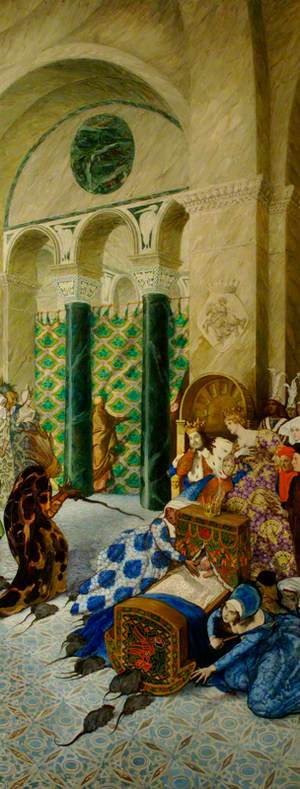 The Sleeping Beauty: The Bad Fairy Visits the Christening