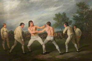 William Warr Defeating William Wood at Navestock in Essex, 31 December, 1788