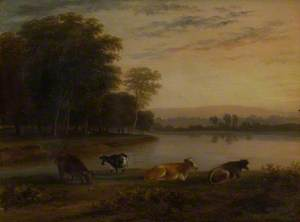 View on the Thames near Twickenham