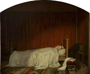 William Beckford on his Deathbed