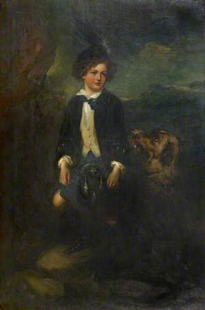 William (1845–1893), 12th Duke of Hamilton, as a Boy