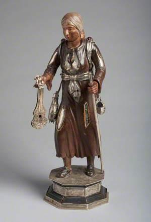 Mandolinist with a Staff