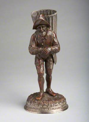 Peasant Man Carrying Basket