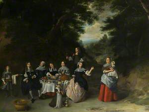 A Patrician Family at Table