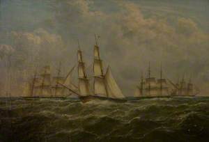 A Trial Ordered by Vice Admiral Codrington, 31st July 1831, off the Dodman