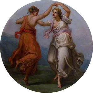 Two Figures Dancing