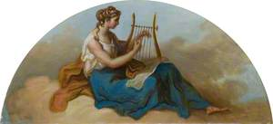 Female Figure with a Lyre