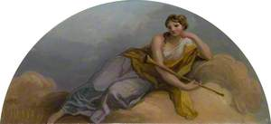 Female Figure with a Horn