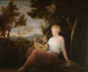 Woman with a Lyre
