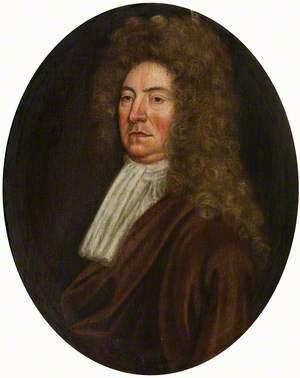 Portrait of a Gentleman in a Dark Red Coat