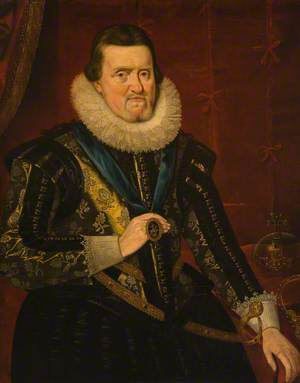 James VI and I, with the Collar of the Order of the Garter