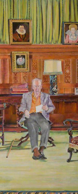 Major Michael Crichton Stuart Seated in the Drawing Room, Falkland Palace