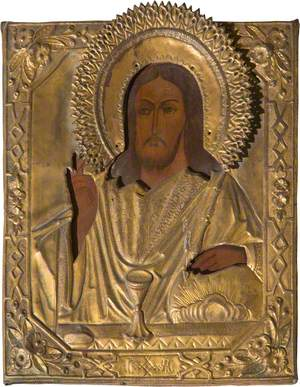 Icon with Christ