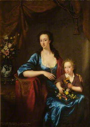Anne (1713–1791), Countess of Aberdeen, and Her Son, Lord William Gordon of Fyvie (1736–1816)