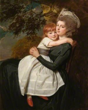 Mrs Stratford Canning, née Mehetebel Patrick (1777–1831), with Her Daughter Elizabeth