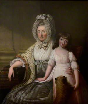 The Honourable Helen Colt of Auldhame (1729/1730–1828), and Her Granddaughter, Grace (1781–1802)