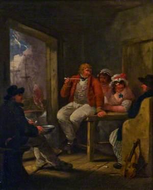 'Jack Ashore', an Inn Scene with Sailors