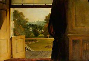 Haddo: The Park Seen through the Open Drawing Room Door
