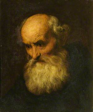 Head of a Bearded Old Man