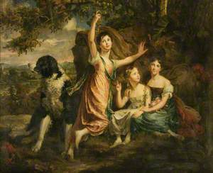 Ladies Alice, Jane and Caroline Gordon