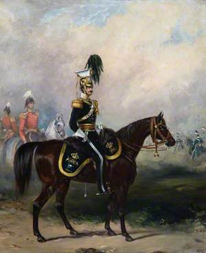 William Henry Kennedy-Erskine (1828–1870), 18th of Dun, Captain of the 17th Lancers