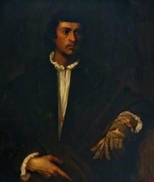 A Gentleman Holding a Glove