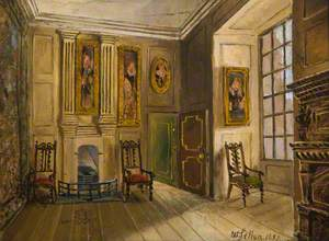 A Drawing Room in Holyrood Palace