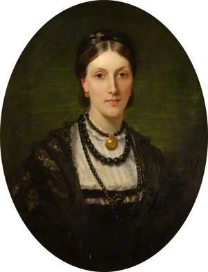 Christina Grace Agnes Hamilton (d.1897), Wife of Colonel Alexander Leith-Hay