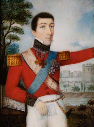 Sir Stapleton Cotton, Lord Combermere, Commander-in-Chief, India (1825–1830)