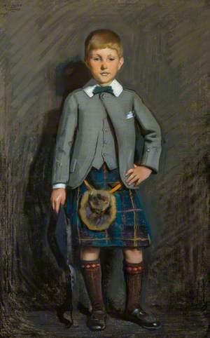 Hugh Sharp (1897–1937), as a Boy in Highland Dress