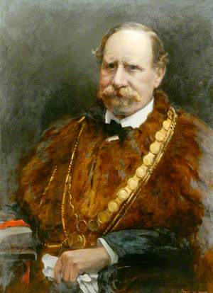 Alderman Theodore Bolus (d.1929), JP, Mayor of Berwick-upon-Tweed (1919, 1920 & 1928)