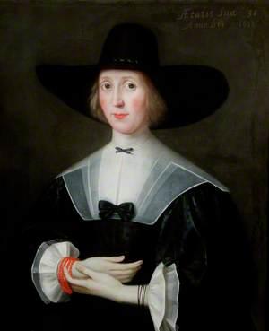 Portrait of a Puritan Lady