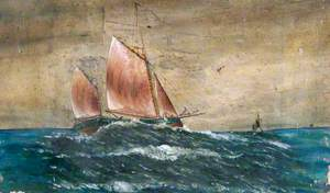 The Old Grimsby Sailing Trawler