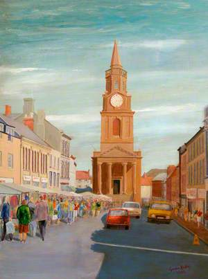 Berwick-upon-Tweed Market Day, Northumberland
