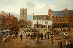 Market Square, Morpeth, Northumberland*