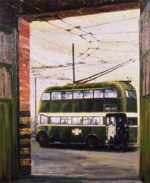 Cargo Fleet Trolley Bus Depot