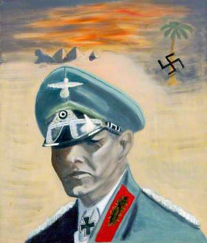 Erwin Rommel (1891–1944), in Egypt
