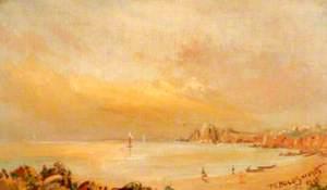 Coastal Scene with Boats