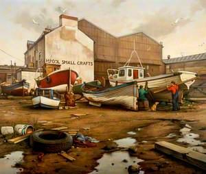 Small Crafts Yard, Hartlepool, Tees Valley