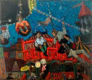 Fairground Scene