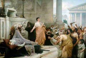 Mark Antony's Oration over the Body of Caesar