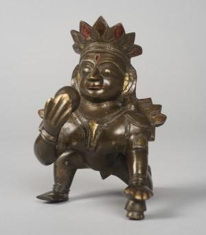 Krishna as an Infant