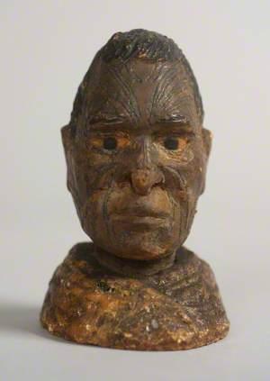 Figure of a Māori Man