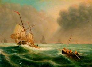 Seascape with Boats*