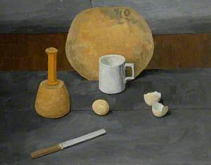 Still Life with Eggs*