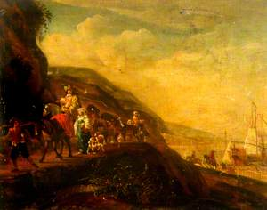 Landscape with Travellers*