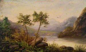 Landscape with Two Trees*