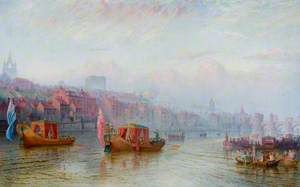 Barge Day on the Tyne, 1771